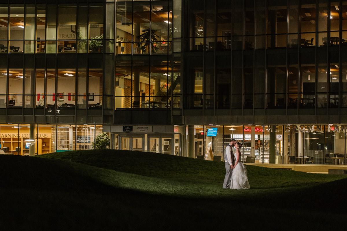 Kamloops wedding venue TRU Thompson Rivers University campus