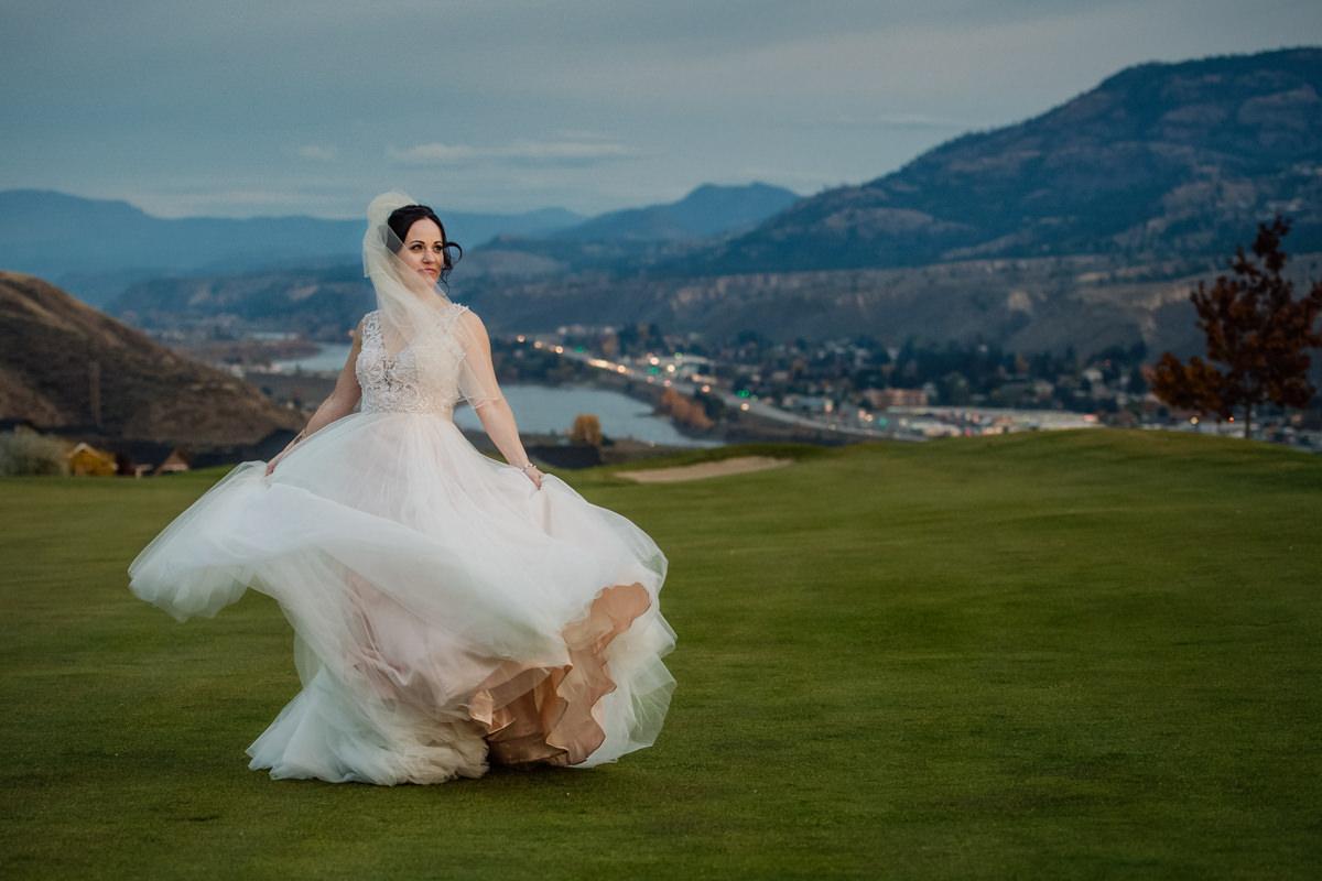 Kamloops wedding venue Bighorn Golf