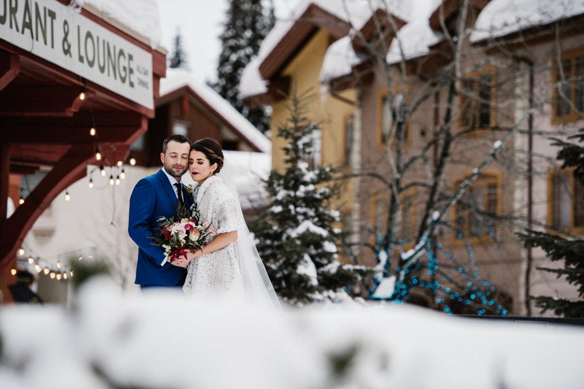 Sun Peaks Resort winter destination wedding BC