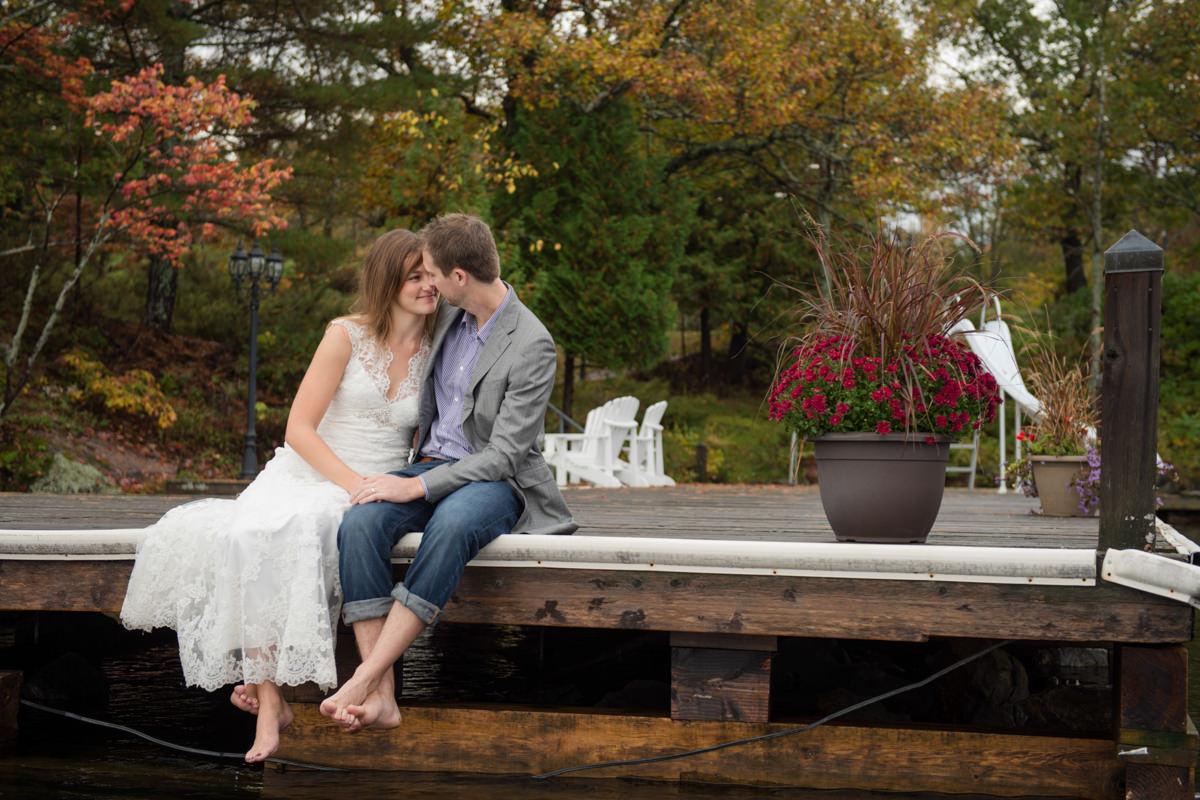 Muskoka wedding photographer trash the dress