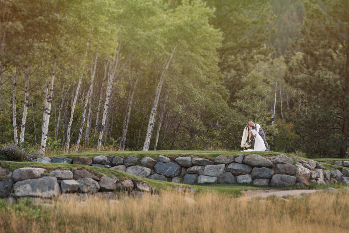 Kamloops wedding venue Quaaout Lodge