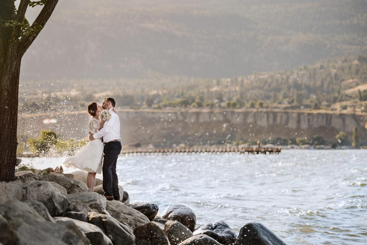 Penticton Okanagan elopement destination wedding Canada