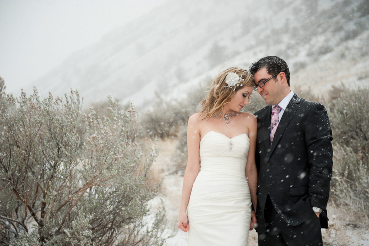 Kamloops winter wedding venue photographer