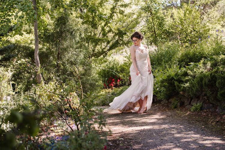 Kamloops wedding venues TRU Gardens