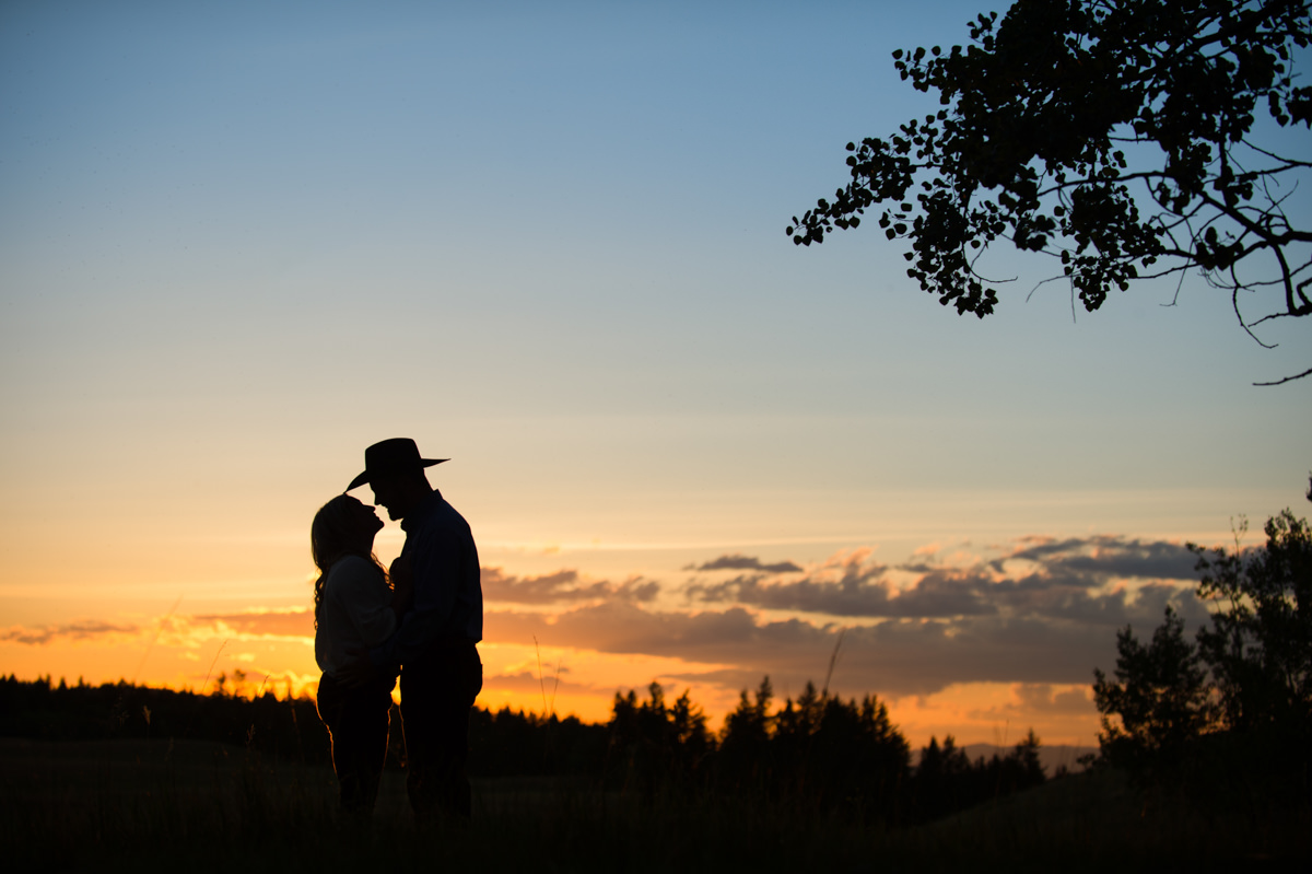 Cowboy engagement session Kamloops