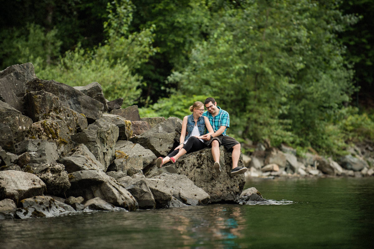 Harrison Hot Springs engagement session photographer
