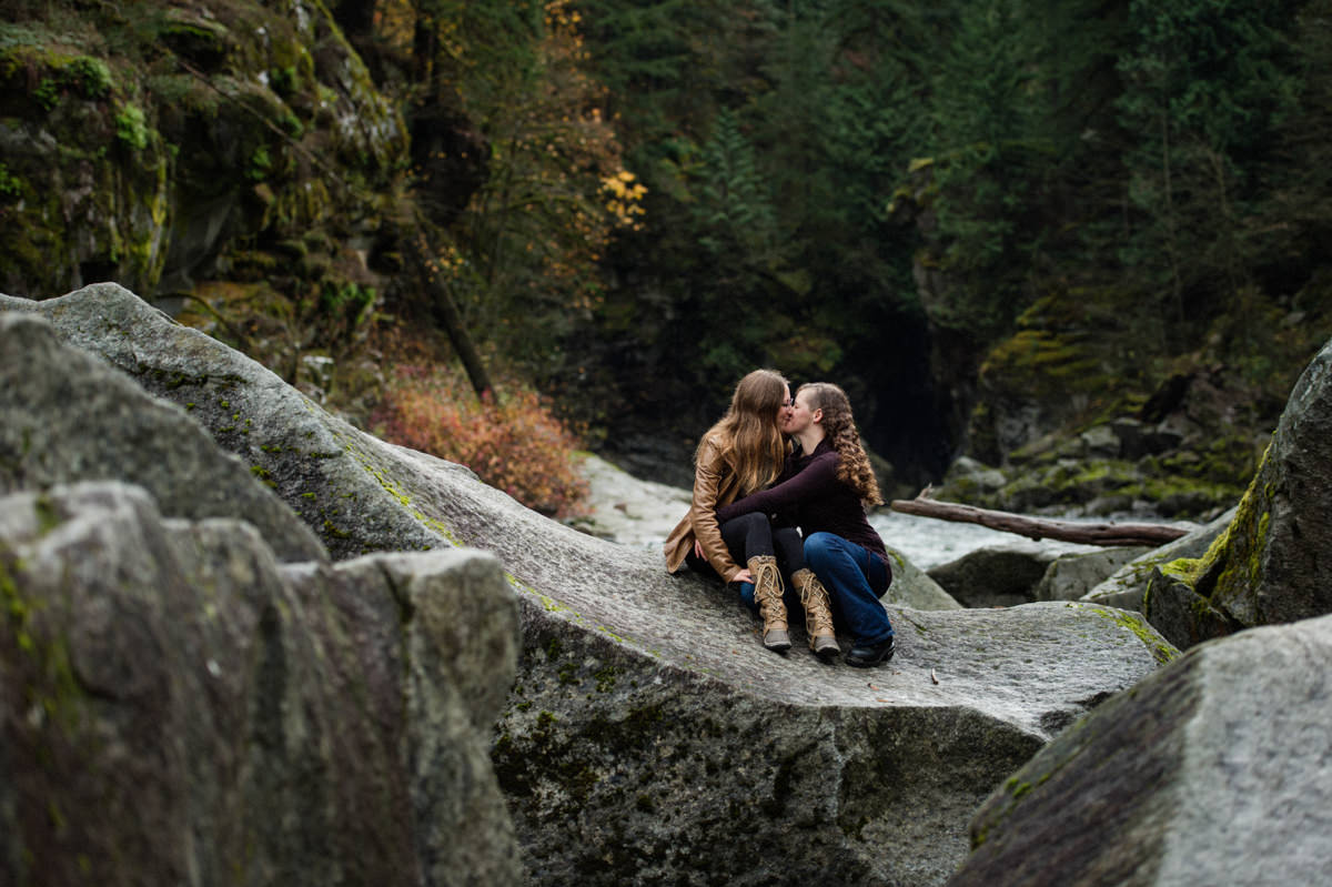 Othello Tunnels BC engagement session