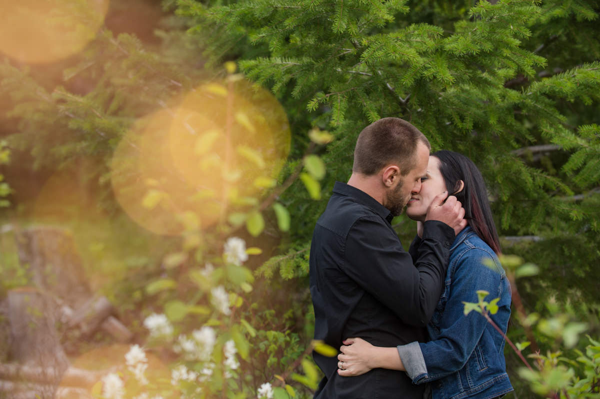 Kamloops engagement session locations Harper Mountain
