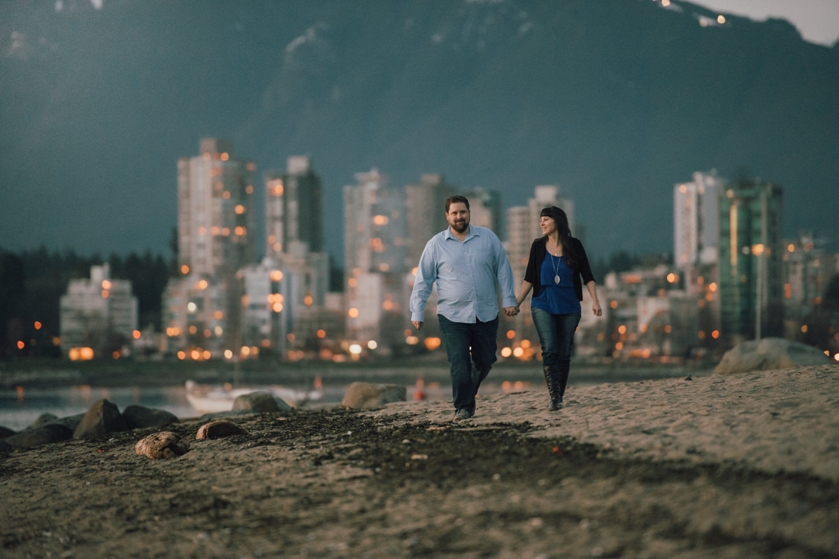 Vancouver engagement photographer Jericho Beach False Creek