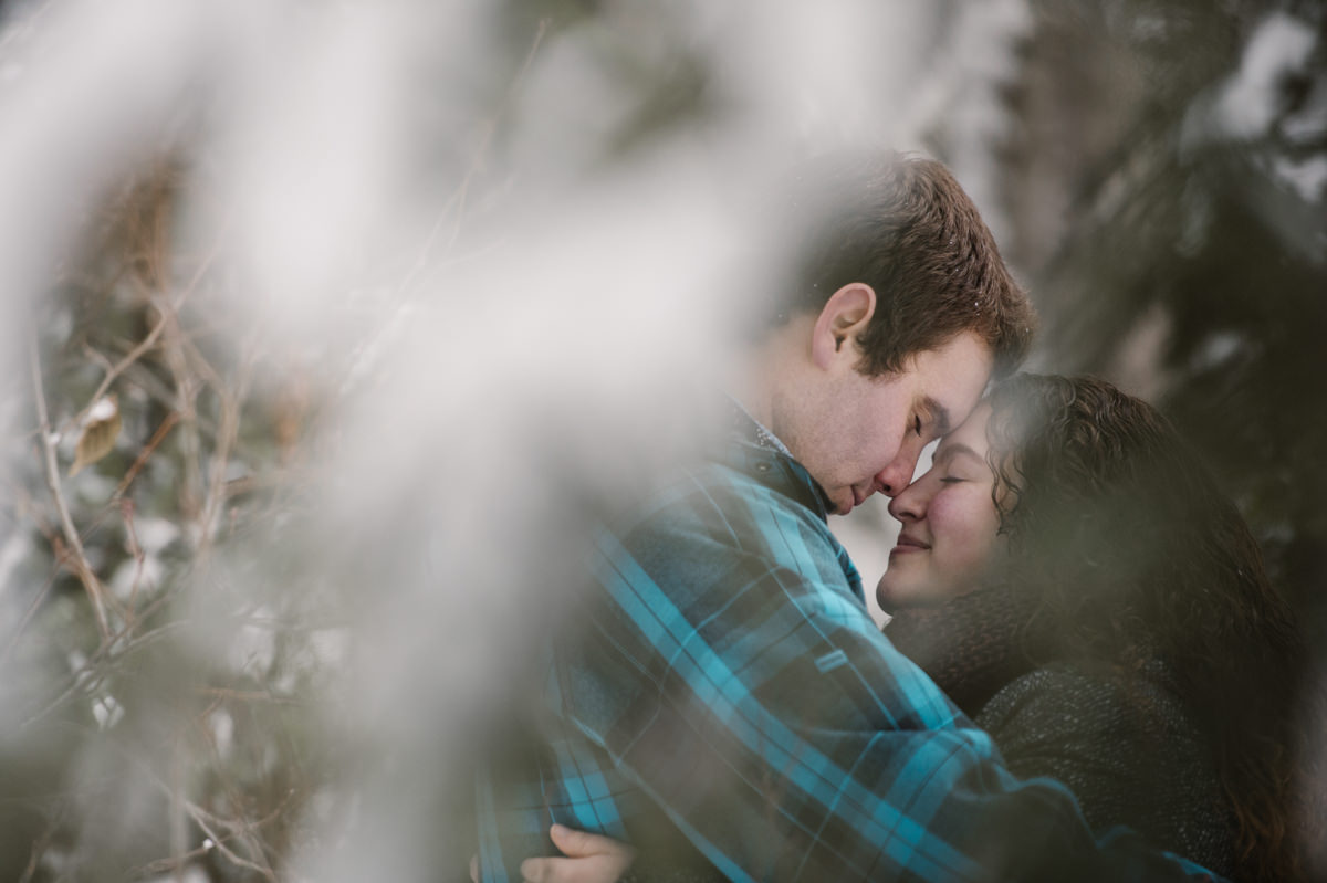 Sun Peaks engagement session