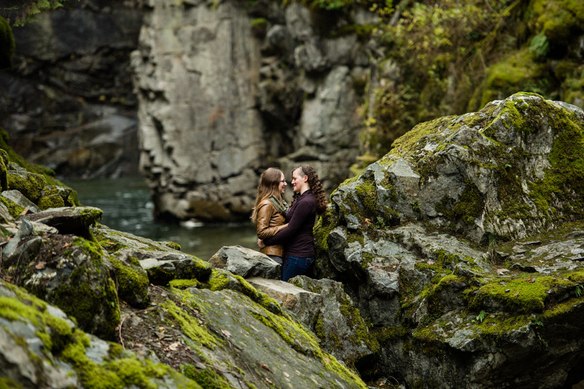 othello tunnels engagement session