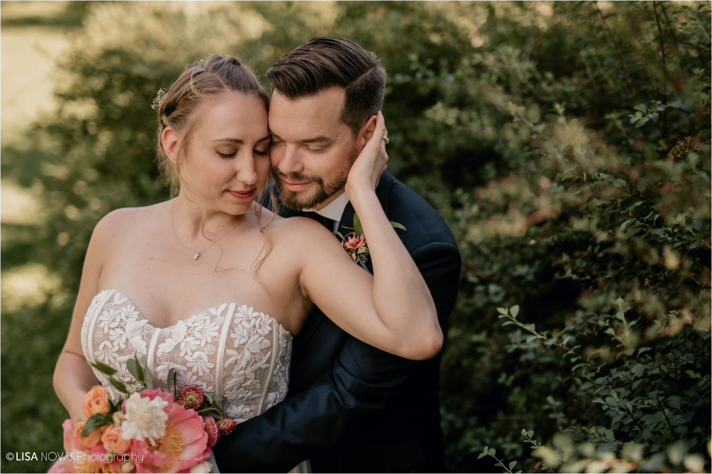 Kamloops wedding photographer intimate portrait